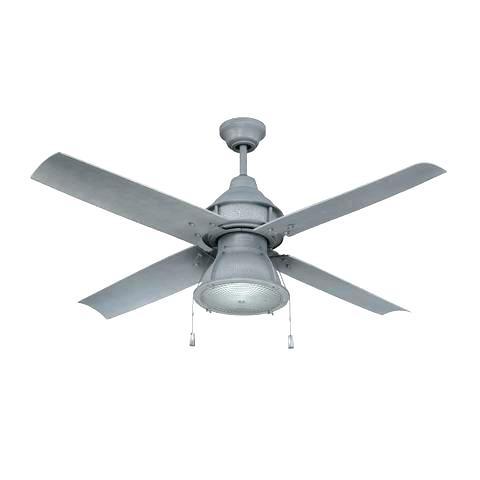Most Popular Galvanized Outdoor Ceiling Fans With Light Intended For Metal Outdoor Ceiling Fans – Spaceitem (View 14 of 15)