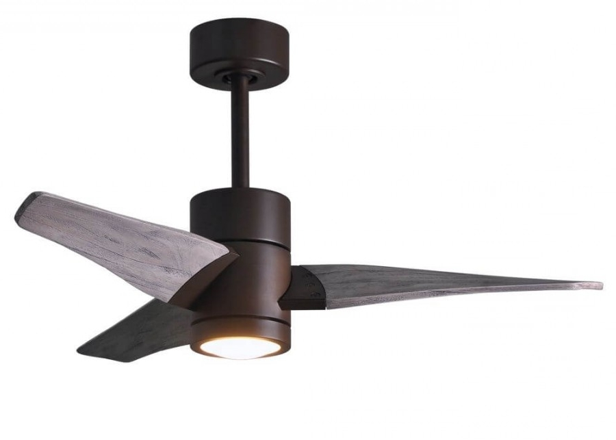 Most Popular Matthews Fan Company Sj Tb Bw 42 Super Janet Led Light 42 Inch With 42 Inch Outdoor Ceiling Fans (View 12 of 15)