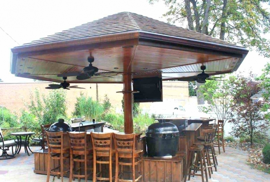 Most Popular Outdoor Ceiling Fans For Gazebo Regarding Gazebo Gazebo Fans Plug In Gazebo Fans Gazebo Fans At Lowes Inside (View 6 of 15)