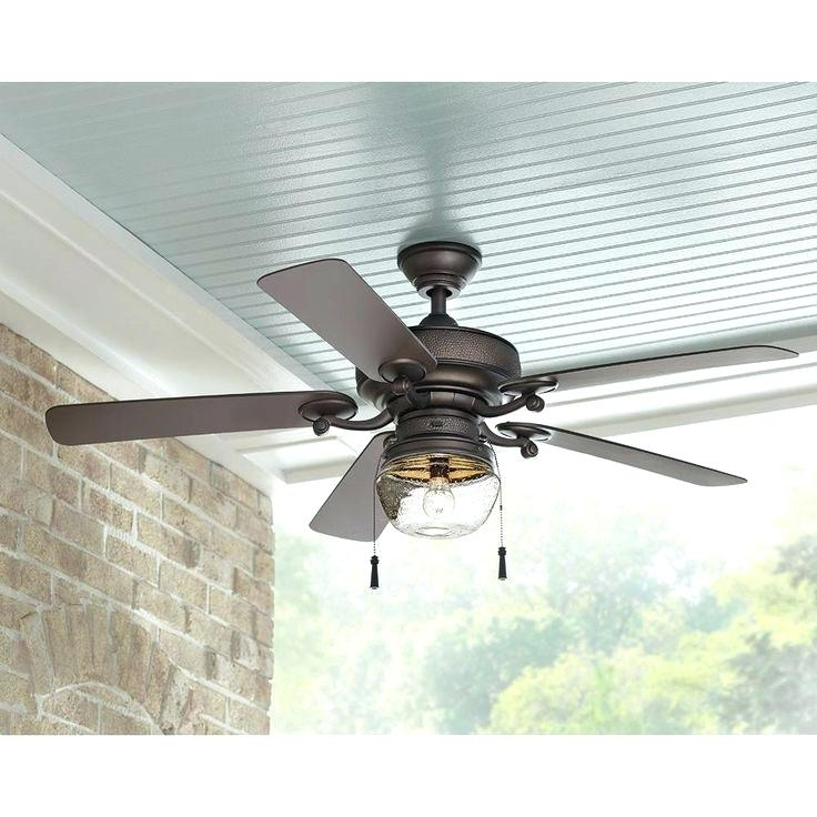 Most Popular Outdoor Porch Ceiling Fans Image Of Modern Outdoor Ceiling Fan Ideas With Modern Outdoor Ceiling Fans With Lights (View 6 of 15)