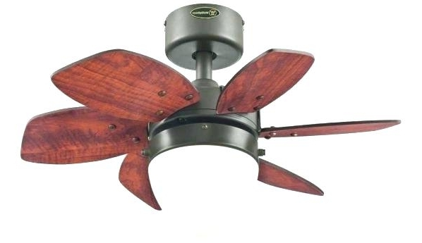 Most Popular Small Outdoor Ceiling Fans W Small Outdoor Ceiling Fan With Light Intended For Mini Outdoor Ceiling Fans With Lights (View 9 of 15)