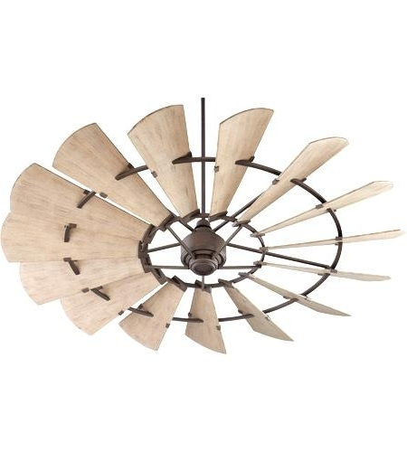 Most Recent 72 Predator Bronze Outdoor Ceiling Fans With Light Kit In Bronze Outdoor Ceiling Fan Quorum Windmill Inch Oiled Bronze With (View 12 of 15)