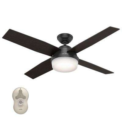 Most Recent Modern – Outdoor – Black – Ceiling Fans – Lighting – The Home Depot With Modern Outdoor Ceiling Fans With Lights (View 7 of 15)