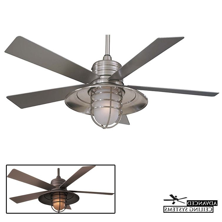 Most Recent Outdoor Ceiling Fans For Coastal Areas With 8 Perfect Coastal Style Ceiling Fans For Beach Inspired Homes (View 9 of 15)