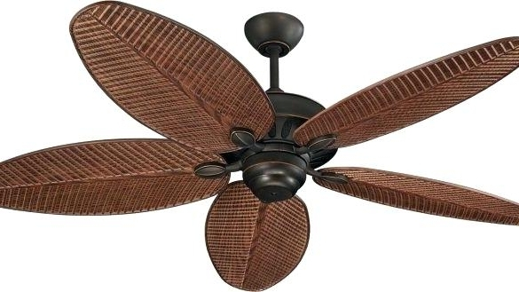 Most Recent Tropical Design Outdoor Ceiling Fans Intended For Simplified Tropical Outdoor Ceiling Fans Curb Cruise Trends With (View 5 of 15)