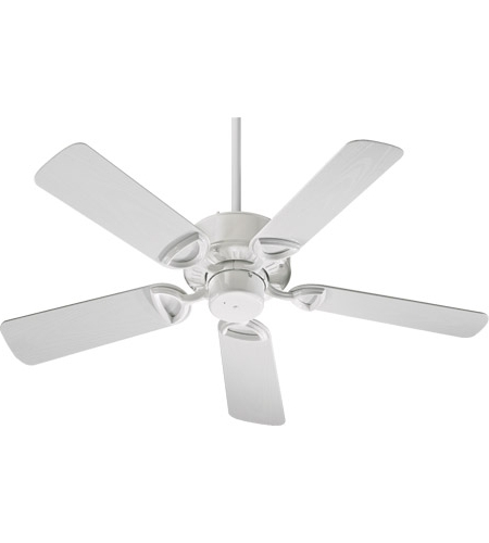 Most Recent White Outdoor Ceiling Fans Regarding Quorum 143425 6 Estate Patio 42 Inch White Outdoor Ceiling Fan (View 15 of 15)