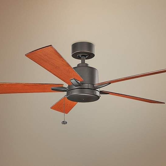 Most Recently Released 52 Inch Bowen Pull Chain Energy Star Olde Bronze Ceiling Fan Inside Outdoor Ceiling Fans With Pull Chains (View 11 of 15)