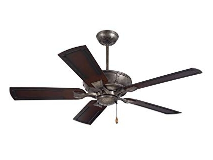 Most Recently Released Outdoor Ceiling Fans For Wet Areas With Regard To Emerson Ceiling Fans Cf610vs Wet Rated Welland Indoor Outdoor (View 6 of 15)