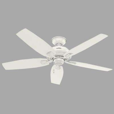Most Recently Released White – Outdoor – Ceiling Fans – Lighting – The Home Depot Within Outdoor Ceiling Fans With Schoolhouse Light (View 12 of 15)