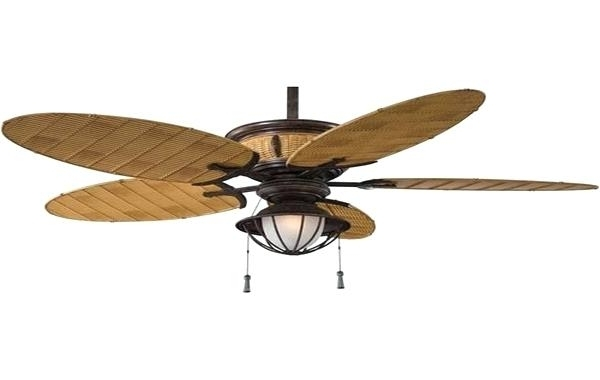 Most Recently Released Wicker Outdoor Ceiling Fans Regarding Rattan Ceiling Fans Wicker Hunter Inch White Palm Leaf Fan Outdoor (View 8 of 15)