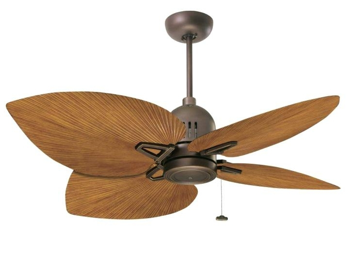 Most Up To Date Hampton Bay Leaf Ceiling Fan Blades Outdoor Leaves Palm Inside Leaf Blades Outdoor Ceiling Fans (View 9 of 15)