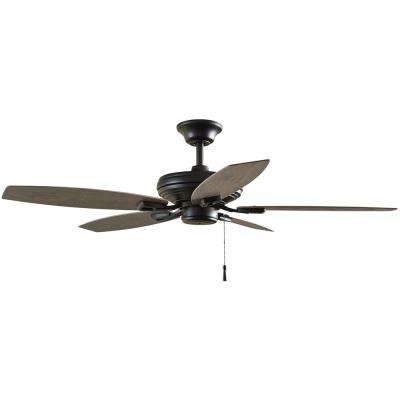 Most Up To Date Hampton Bay – Outdoor – Ceiling Fans – Lighting – The Home Depot Intended For Hurricane Outdoor Ceiling Fans (View 13 of 15)