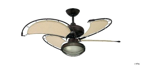 Nautical Ceiling Fans Ceiling Fan Nautical Themed Ceiling Fans Within 2018 Nautical Outdoor Ceiling Fans With Lights (View 6 of 15)