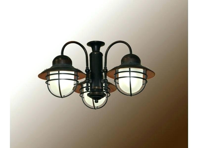 Nautical Outdoor Ceiling Fans With Lights Inside Best And Newest Nautical Outdoor Ceiling Lights Nautical Ceiling Lighting Top (View 8 of 15)
