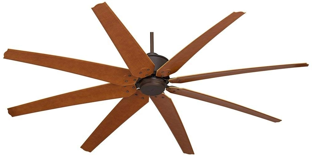 "Newest Amazon Outdoor Ceiling Fans With Lights Regarding 72"" Predator English Bronze Outdoor Ceiling Fan – – Amazon (View 7 of 15)"