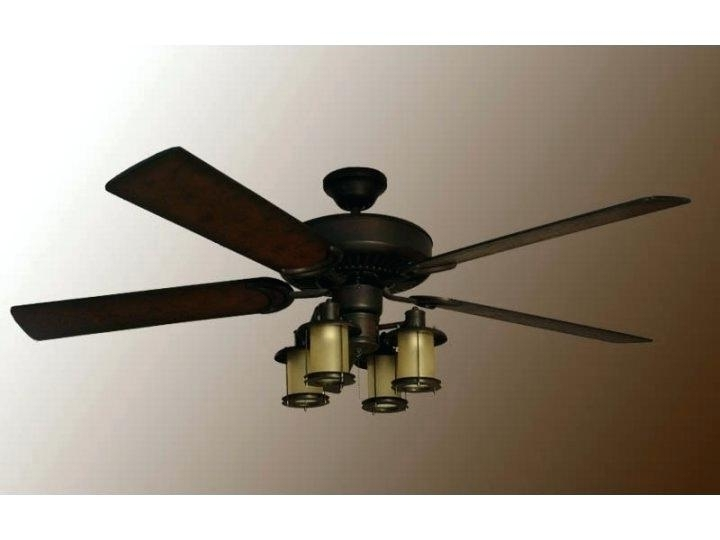 Newest Mission Style Outdoor Ceiling Fans With Lights For Craftsman Style Ceiling Fans Mission Style Ceiling Fans Com Inside (View 6 of 15)