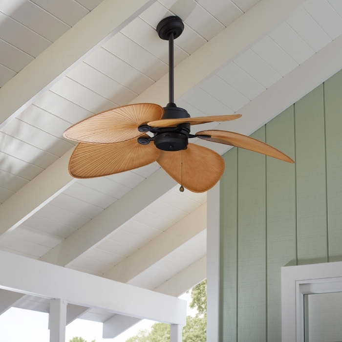 Newest Outdoor Ceiling Fans With Long Downrod For Ceiling Fan Buying Guide (Gallery 14 of 15)
