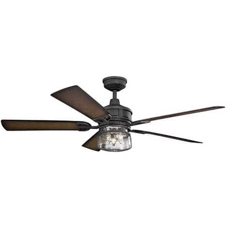 Our Best Lighting Deals In Well Known Outdoor Ceiling Fans Under $ (View 15 of 15)
