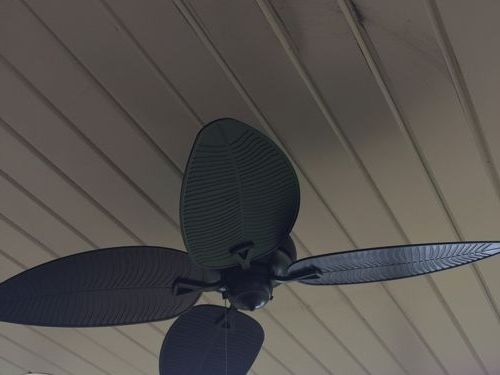 Outdoor Ceiling Fan Located In A High Wind Area Pertaining To Most Recently Released Outdoor Ceiling Fans For Windy Areas (View 10 of 15)