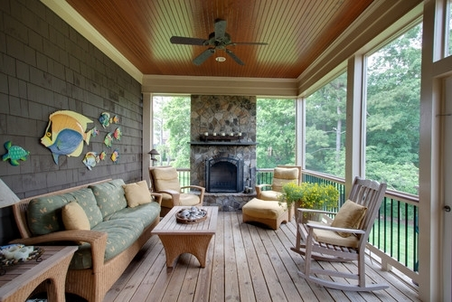 Outdoor Ceiling Fan Under Deck Throughout Most Popular Things To Consider When Buying An Outdoor Ceiling Fan (View 12 of 15)