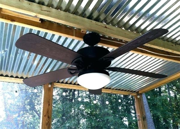 Outdoor Ceiling Fan Under Deck Throughout Most Up To Date Outdoor Deck Fan Outdoor Deck Fan Buildings Best Outdoor Porch (View 13 of 15)