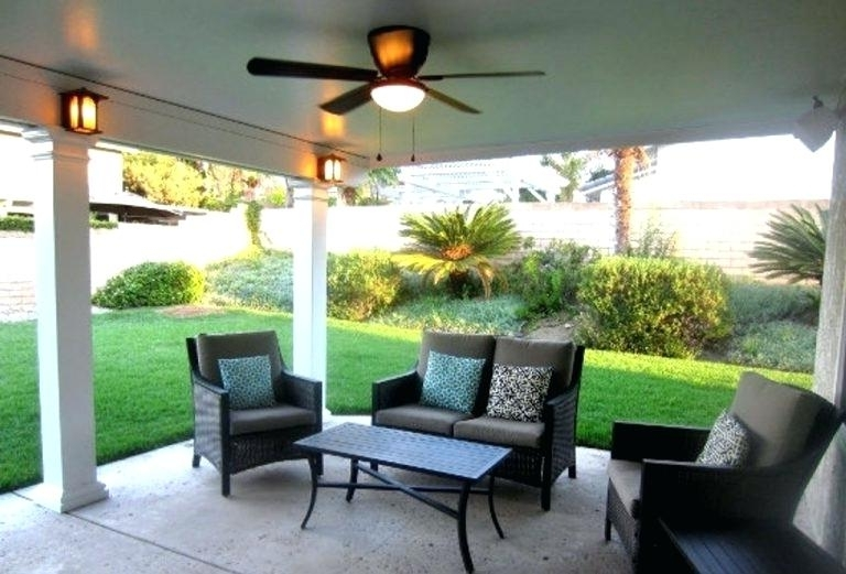 Outdoor Ceiling Fans And Lights Inside Most Current Outdoor Ceiling Fans With Lights Fan Light Kit Type – Chrisroland (View 13 of 15)