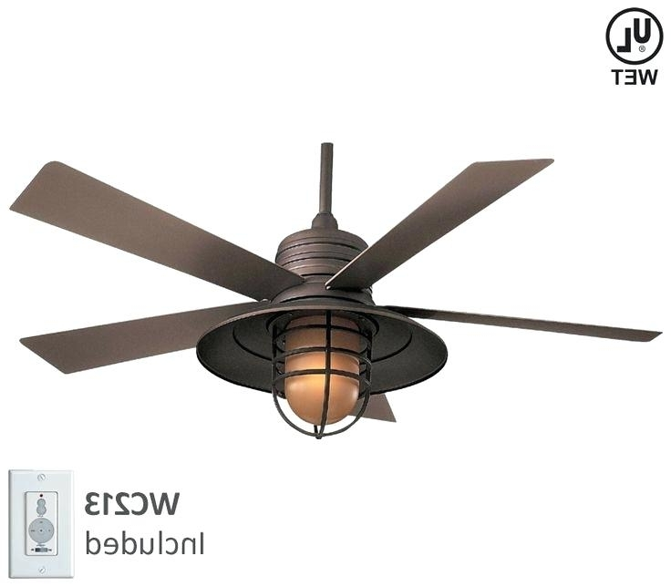 Outdoor Ceiling Fans Dc Motor Outdoor Ceiling Fans Flush Mount With Pertaining To Most Popular Galvanized Outdoor Ceiling Fans With Light (View 11 of 15)
