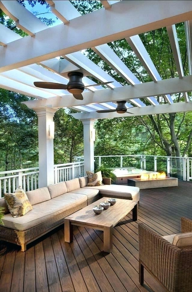 Outdoor Ceiling Fans For Decks Throughout 2017 Porch Ceiling Fans Outdoor Porch Fans Lovable Outdoor Ceiling Fan (View 9 of 15)
