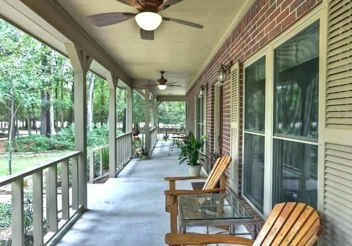 Outdoor Ceiling Fans For Porches Within Well Known Porch Ceiling Fan Related Post Exterior Ceiling Fans Without Lights (View 12 of 15)