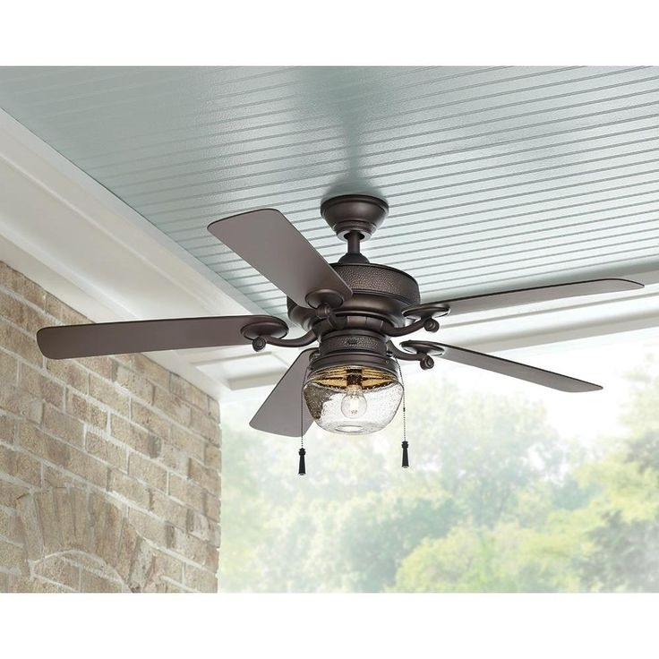 Outdoor Ceiling Fans For Wet Areas Within Famous Wet Rated Outdoor Ceiling Fan – Pixball (View 14 of 15)