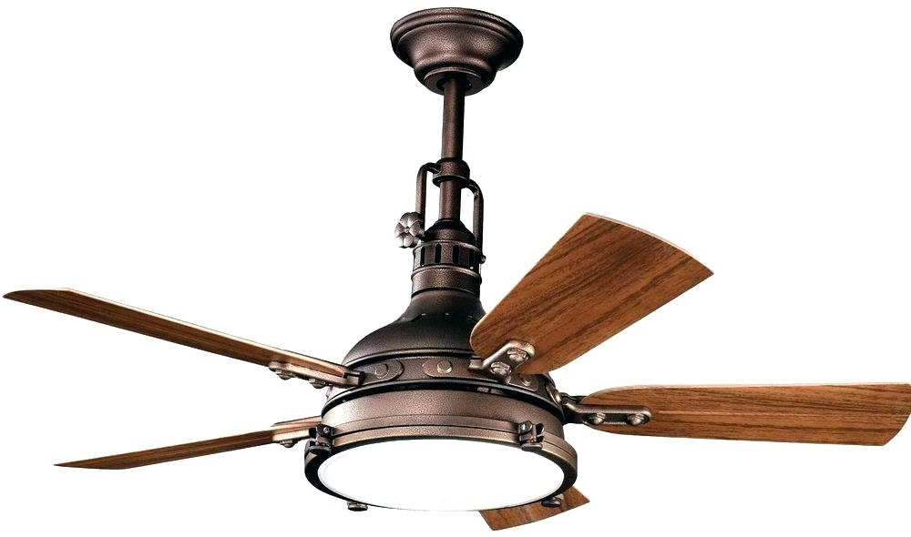 Outdoor Ceiling Fans Light Kit Rustic Ceiling Fan Light Kit Antique Inside Well Known Rustic Outdoor Ceiling Fans (View 10 of 15)