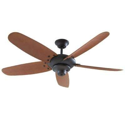 Outdoor – Ceiling Fans – Lighting – The Home Depot Intended For Most Recent Bronze Outdoor Ceiling Fans With Light (View 13 of 15)
