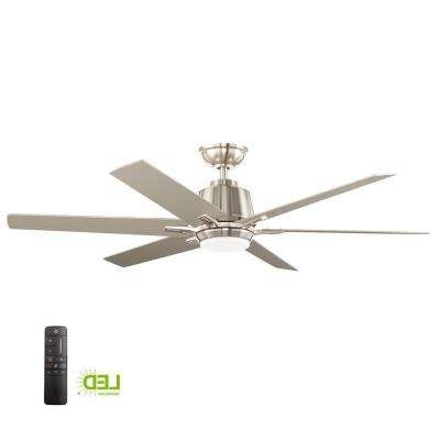 Outdoor Ceiling Fans Under $200 With Regard To Newest Dc Motor – Ceiling Fans – Lighting – The Home Depot (View 8 of 15)