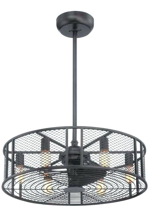 Outdoor Ceiling Fans With Cage With Regard To Well Liked Double Caged Ceiling Fan Motors Outdoor Fans – Hitmangear (View 12 of 15)