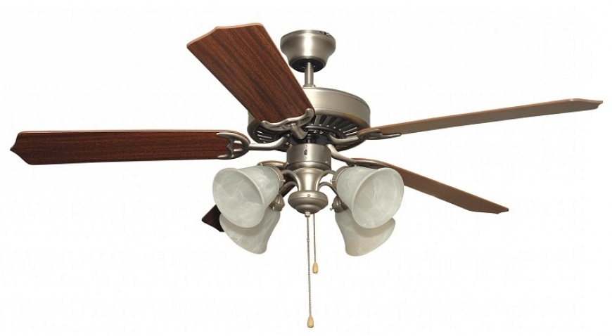 Outdoor Ceiling Fans With Dimmable Light With Regard To Latest Ceiling Fans With Lights – Top Rated Ceiling Fans Reviews 2018 (Gallery 5 of 15)