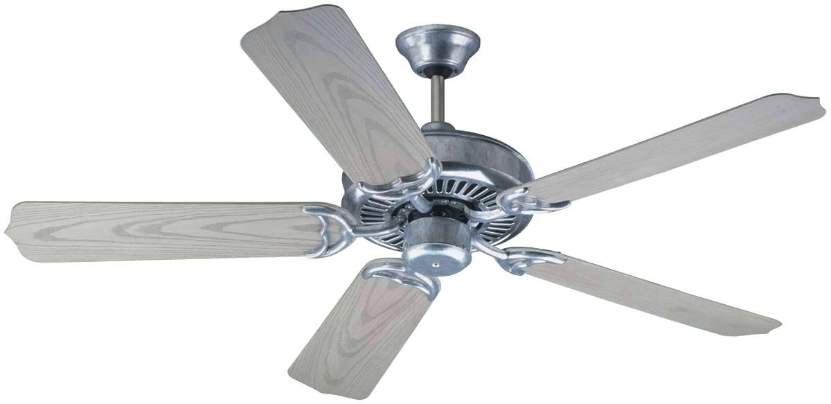 Outdoor Ceiling Fans With Galvanized Blades Pertaining To Well Liked 52 Inch Outdoor Ceiling Fan Porch Inch Ceiling Fan Galvanized Steel (View 2 of 15)