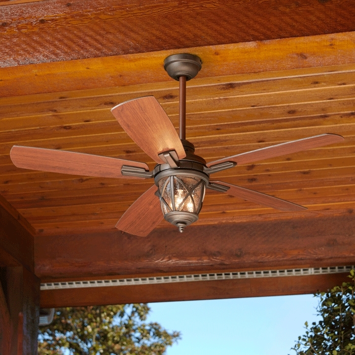 Outdoor Ceiling Fans With Lantern Light Regarding Latest Outdoor Lighting Buying Guide (View 11 of 15)