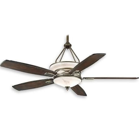 Outdoor Ceiling Fans With Uplights Throughout Most Current Casablanca Atria C18G500F – 68 Inch Indoor/outdoor Ceiling Fan With (Gallery 1 of 15)