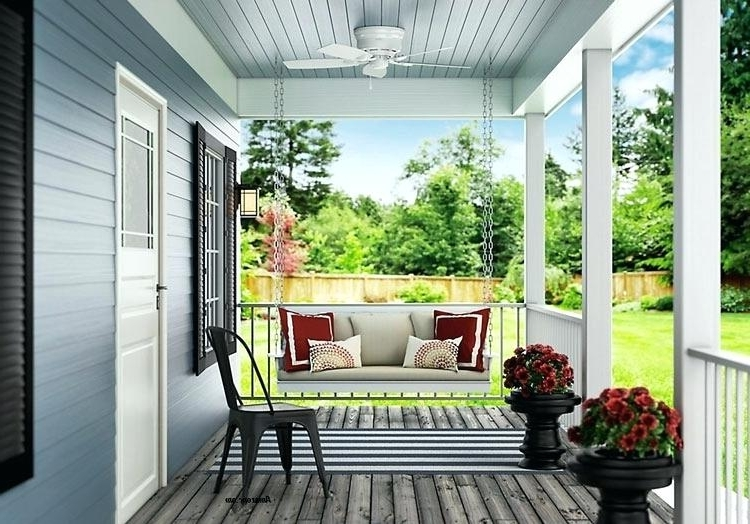 Outdoor Ceiling Flush Mount Outdoor Ceiling Fan Flush Mount Ceiling Pertaining To Favorite Outdoor Ceiling Fans For Porch (Gallery 10 of 15)
