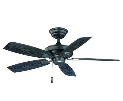 Outdoor Electric Ceiling Fans Within Favorite Hampton Bay Gazebo Ii 42 In (View 13 of 15)