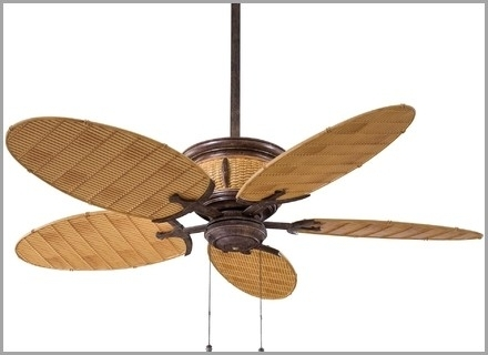 Outdoor Large Ceiling Fans » Comfy Large Outdoor Ceiling Fans With Intended For Fashionable Outdoor Ceiling Fans With Motion Sensor Light (View 10 of 15)