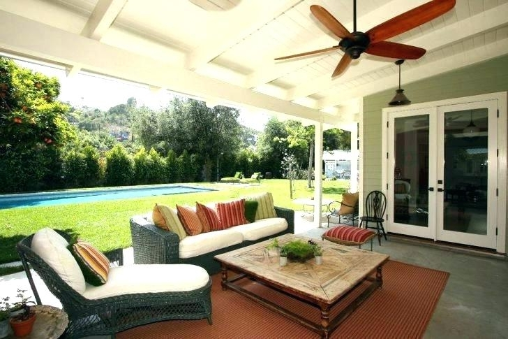 Outdoor Porch Ceiling Fans Best Outdoor Fans Fan Outdoor Porch With Regard To 2017 Outdoor Porch Ceiling Fans With Lights (View 6 of 15)