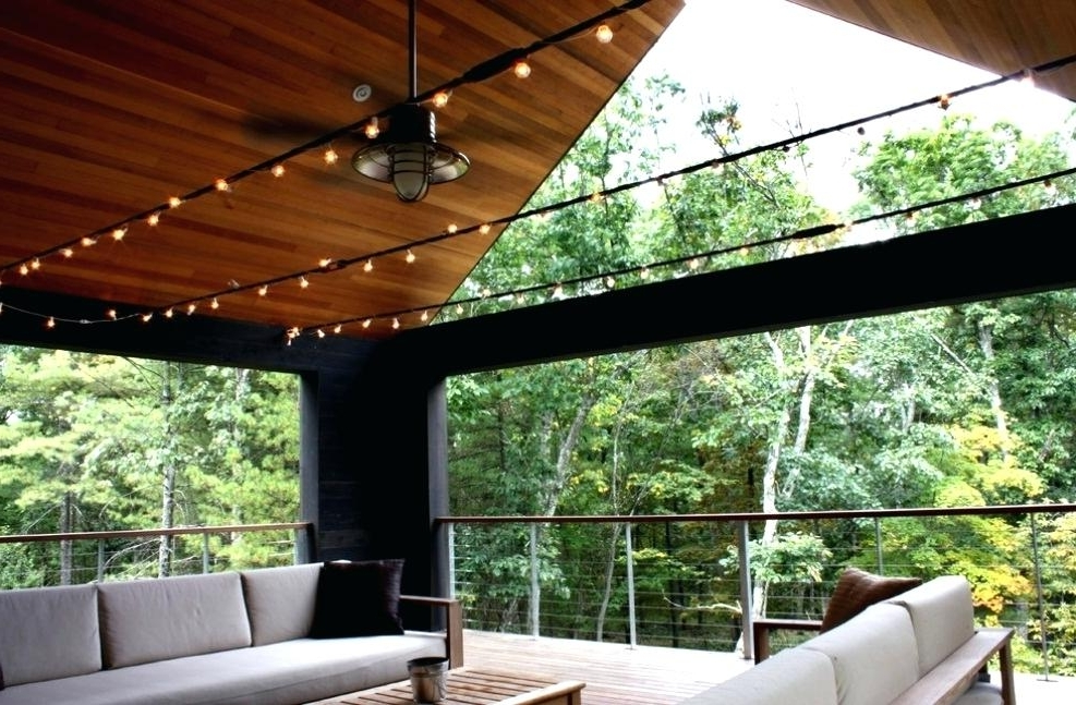 Outdoor Porch Ceiling Fans With Lights With Regard To Preferred Outdoor Deck Fan Rustic Outdoor Ceiling Fan Light Kit Outdoor Porch (View 11 of 15)