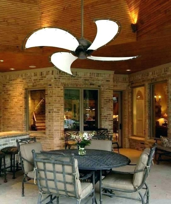 Outdoor Rated Ceiling Fans With Lights With Regard To Most Recent Outdoor Porch Ceiling Fans Wet Rated Out Door Fan Location Exterior (View 11 of 15)