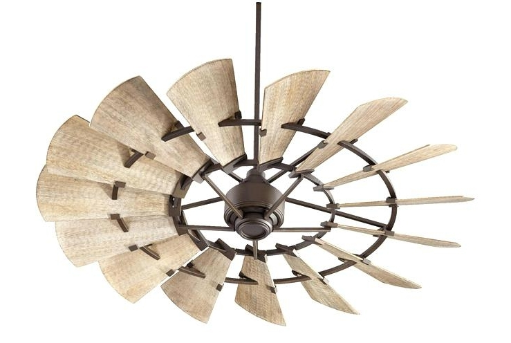 Outdoor Windmill Ceiling Fan Lighting Dazzling Vintage Ceiling Fans Within 2018 Outdoor Windmill Ceiling Fans With Light (View 8 of 15)
