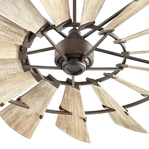 Oversized Outdoor Ceiling Fans Pertaining To Most Popular Big Ceiling Fans – Mostafiz (Gallery 2 of 15)