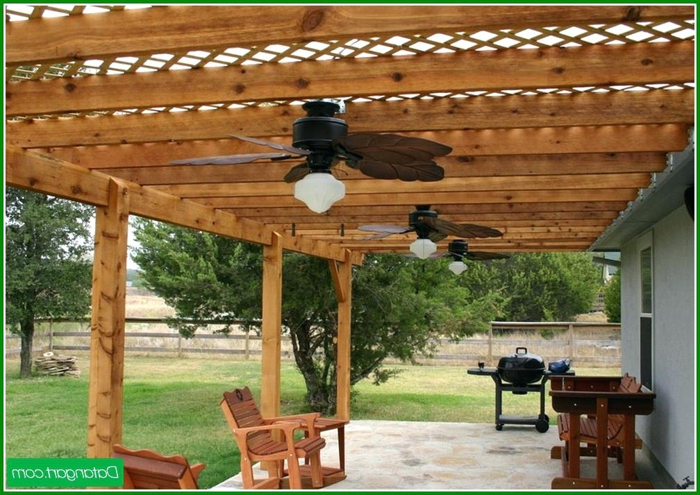 Pergola Ceiling Fan Outdoor Fans For Pergolas – Adscafe Inside Preferred Outdoor Ceiling Fans For Pergola (View 7 of 15)