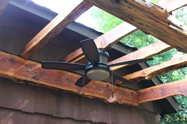 Pergola Fan Outdoor Ceiling Fans Installation – Bookify Throughout Widely Used Outdoor Ceiling Fans Under Pergola (View 5 of 15)