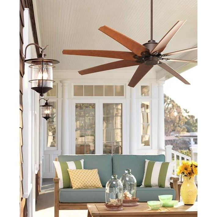 Pinterest Pertaining To Trendy 72 Predator Bronze Outdoor Ceiling Fans With Light Kit (View 15 of 15)