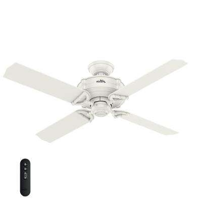 Popular Hunter – Remote Control Included – Outdoor – Ceiling Fans – Lighting In Hunter Outdoor Ceiling Fans With White Lights (View 7 of 15)